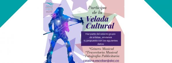 PARTICIPA DE LAS VELADAS CULTURALES