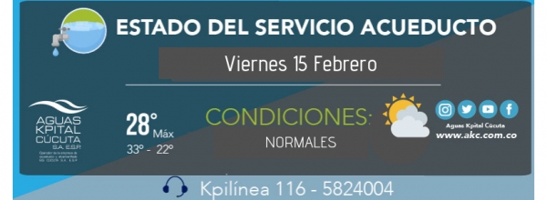 ESTADO DEL SERVICIO AKC