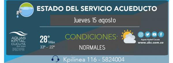 ESTADO DEL SERVICIO