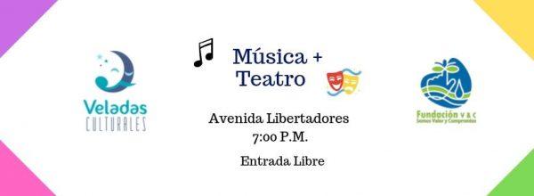 VELADA CULTURAL DE MÚSICA Y TEATRO