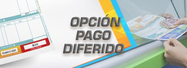 OPCIÓN PAGO DIFERIDO